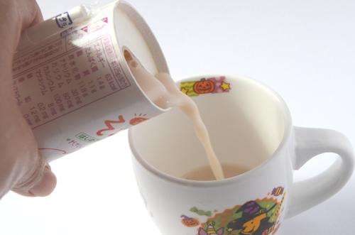 果汁が入って、とっても飲みやすい豆乳です