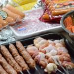コストコでお肉やソーセージを買い込んで、バーベキュー決行!