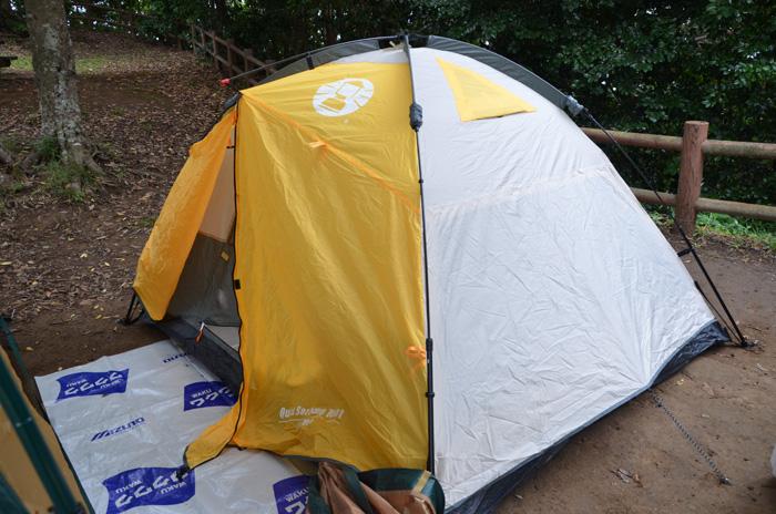 Coleman tent140920