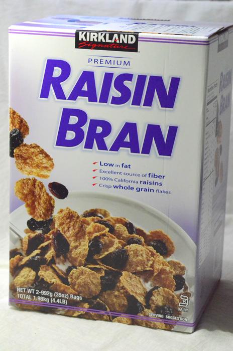 Raisin Bran(レーズンブラン)シリアル 1.98kg