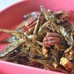 コストコ食材でおせち作り「ピーカン田作り」