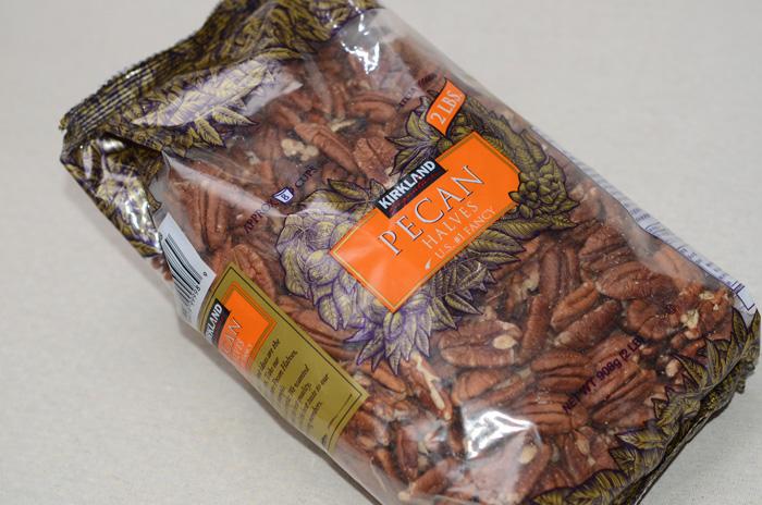 コストコのピーカンナッツ(908g)1,598円