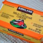 [コストコ] カークランド マイルドチェダーチーズ 907g
