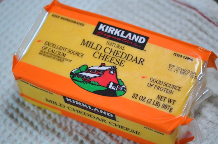 カークランド・マイルドチェダーチーズ