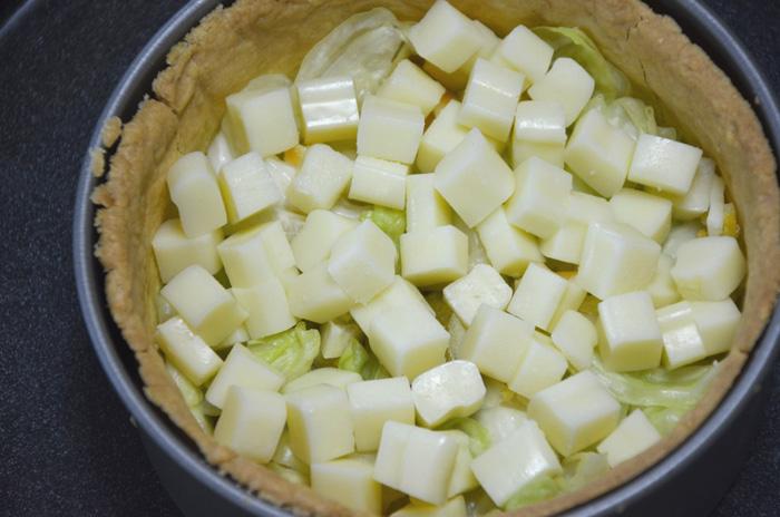 1センチ角にカットしたボーノチーズ