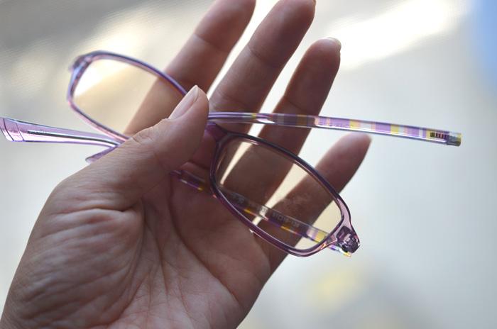 2個目のPCメガネが、娘に破壊される