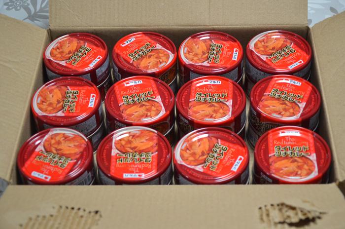 マルハニチロ「タイレッドツナカレー缶」24個入り