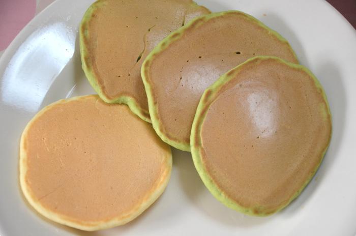 青汁(大麦若葉)パンケーキ