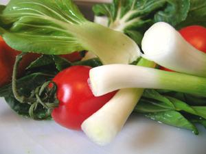 主食、主菜、副菜を基本に、野菜もしっかりとりましょう