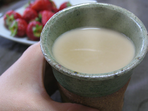 ミルクたっぷりのカフェオレだって、簡単です