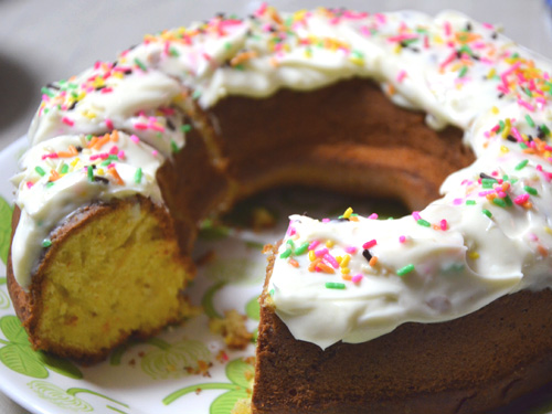 クリームだけ食べて、そっぽ向かれたキャロットケーキ