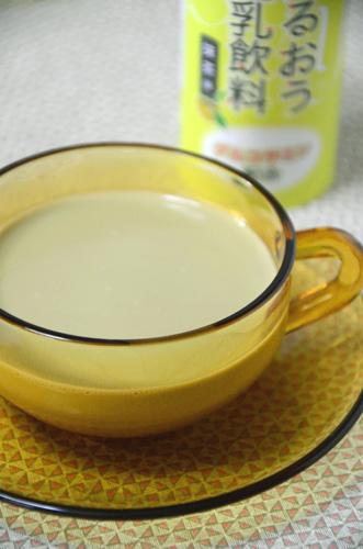 抹茶風味の豆乳です