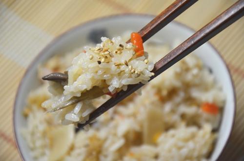 米粒しっかり、おこわみたいで美味しいよ~