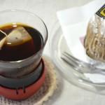 たんぽぽコーヒーとモンブランでコーヒーブレイク