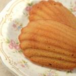 """""""小麦ブラン""""と""""大豆""""で作った、メープル低糖マドレーヌ"""