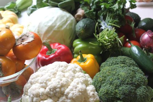 緑黄色野菜にもカルシウムは多い