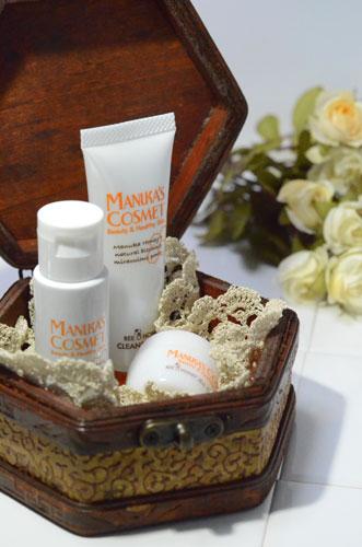 基礎化粧品は、クレンジング・化粧水・クリームの3点