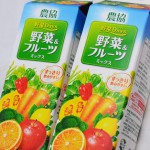 農協 野菜&フルーツミックス(1,000ml)×2本 288円