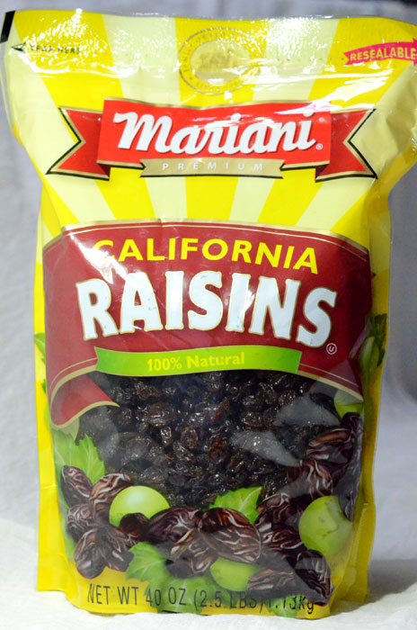 Mariani Raisins(マリアーニレーズン)1,134g、418円