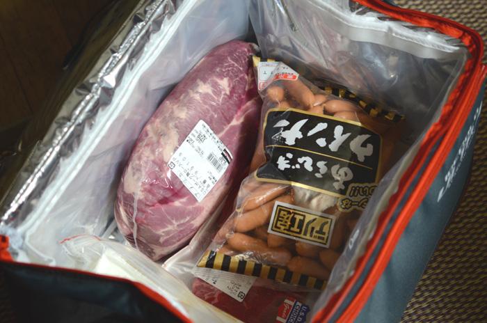 コストコ買い物用、保冷バッグとして