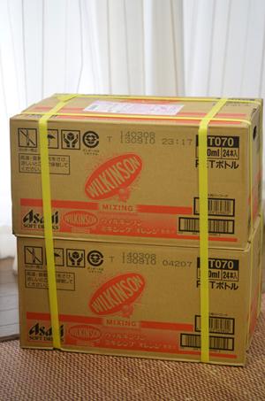 24本入りが2箱、500mlペットボトル48本