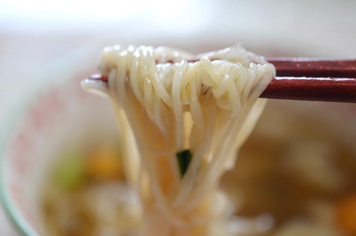 フリーズドライのつるつる素麺