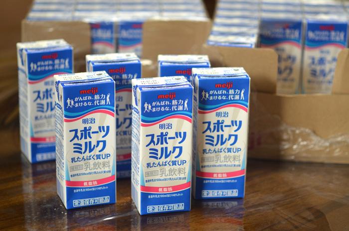 乳たんぱく質を強化した「乳飲料」