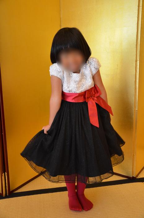 5歳になったばかりの娘、サイズ6を着用