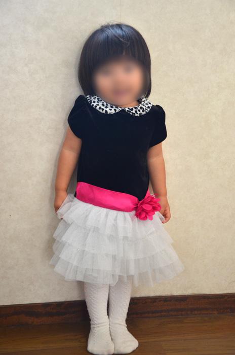 次女1歳10ヶ月、ドレスサイズ24M/2T