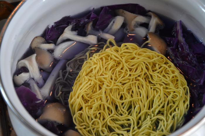 紫キャベツのスープ